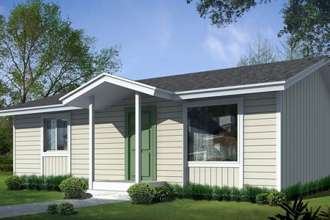 Model 10 Tek Katlı Çelik Ev